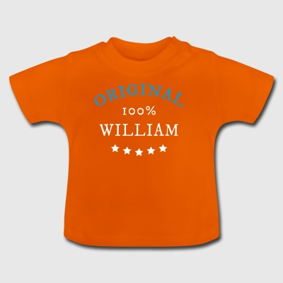 Original 100% William, gåva - Baby-T-shirt