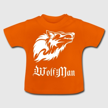 wolfman wite - Baby T-shirt