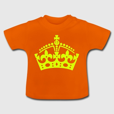 Keep Calm crown / crown - Baby T-Shirt