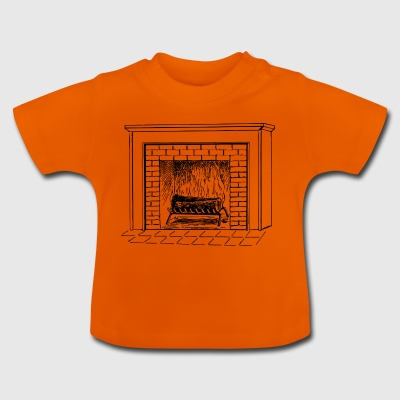 fireplace - Baby T-Shirt