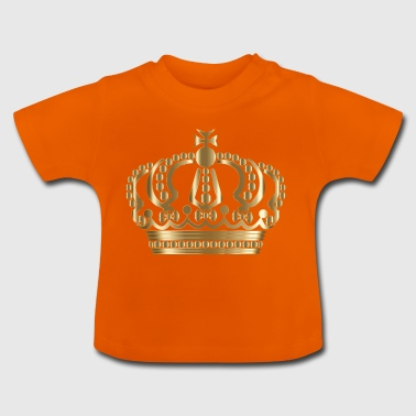 Crown gold - Baby T-Shirt
