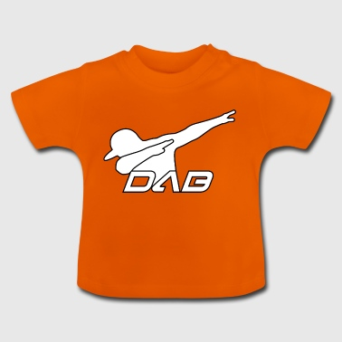 Alternate DAB white outline - Baby T-Shirt