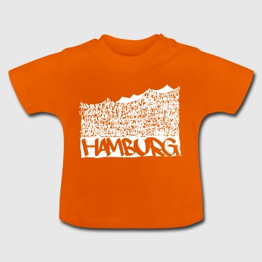 Hamburg Music Hall - Hvid - Baby T-shirt