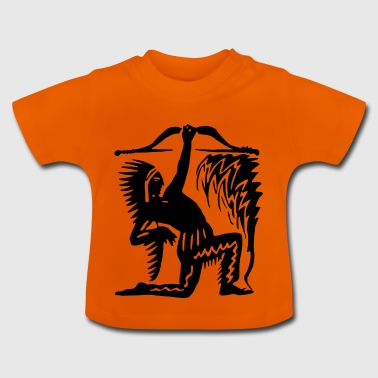 Indian silhouette - Baby T-Shirt