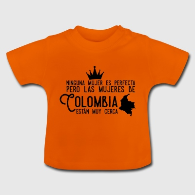 Colombia, Colombiansk design - Baby T-shirt