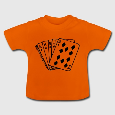 Royal flush - Baby T-shirt