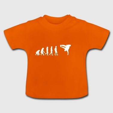EVOLUTION breakdance Bboy Breakin - Baby T-shirt