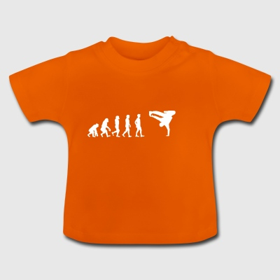 EVOLUTION bboy breakdance Breakin - T-shirt Bébé