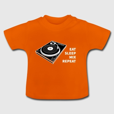 TURNTABLE DJ SHIRT - Baby T-Shirt