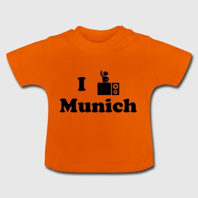 munich dj - Baby T-Shirt