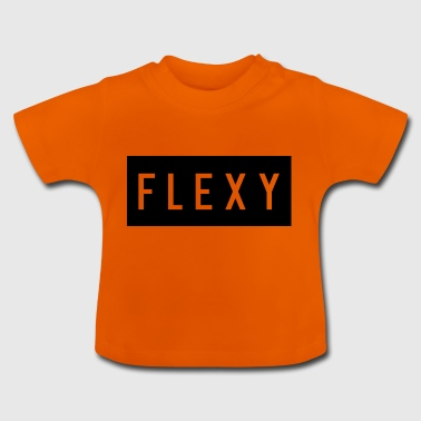 Flexy Hemdlogo - Baby T-Shirt