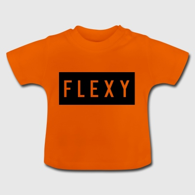 Flexy tröja logo - Baby-T-shirt