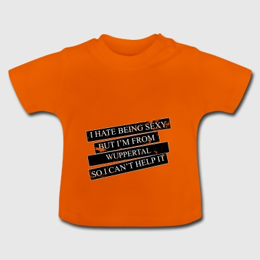 Motive for cities and countries - WUPPERTAL - Baby T-Shirt