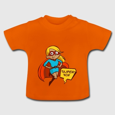 Super Mom - Baby T-shirt
