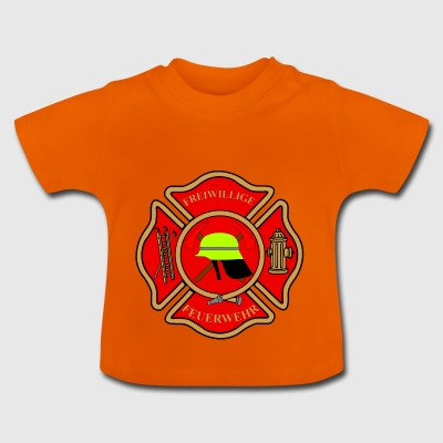 Brandweer patch - Baby T-shirt