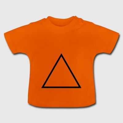 triangle - T-shirt Bébé