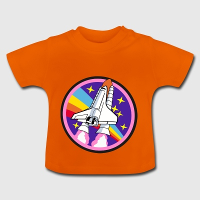 Colorful rocket - Baby T-Shirt