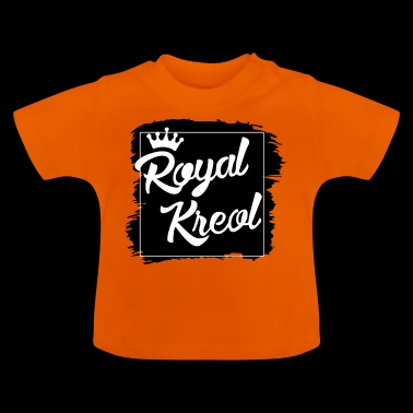 royal kreol color black - T-shirt Bébé