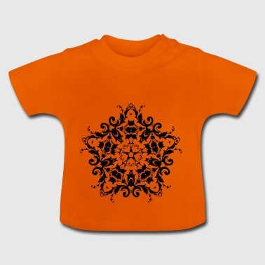 Ornament - Damask - Baby-T-shirt