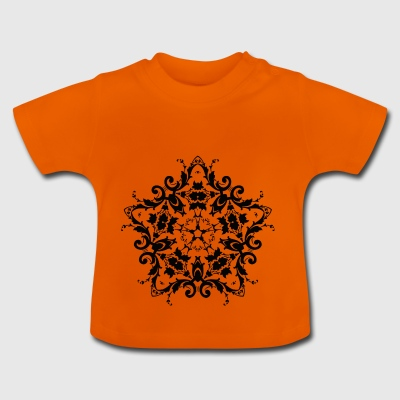 Ornamento - Damasco - Camiseta bebé