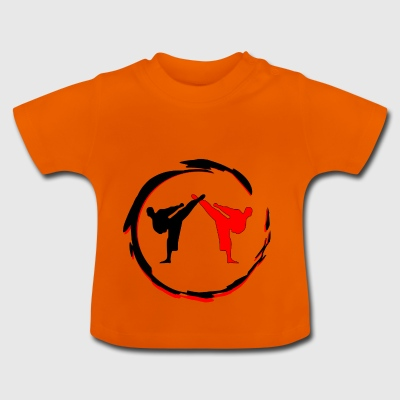Kickboxer Fight MMA schaduw Muy Thai - Baby T-shirt