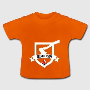 french kroppen - Baby-T-shirt