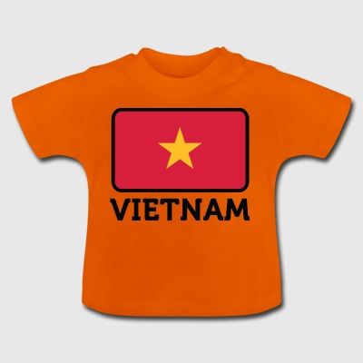 National Flag Of Vietnam - Baby T-Shirt