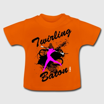 BATON TWIRLING - Baby T-Shirt