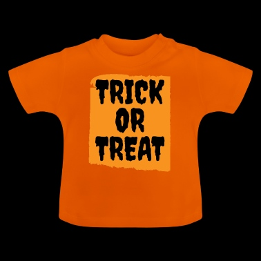 Halloween - Trick or Treat - Baby-T-skjorte
