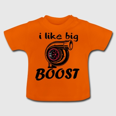 text i like Boost - Baby T-Shirt