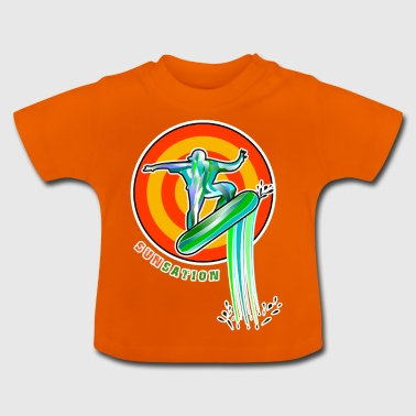 3D Sunsation - Baby-T-shirt