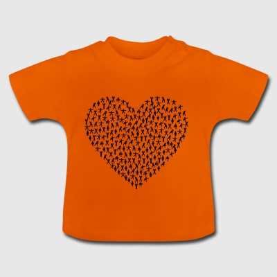 Fitness Heart - Baby T-shirt