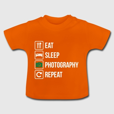 Eat Sleep Photography Repeat - Baby T-Shirt