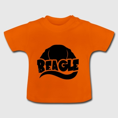 Beagle Silhouette - Baby T-Shirt
