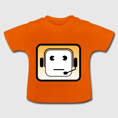 Headset | Callcenter | Phone | Mobile phone acquisition - Baby T-Shirt