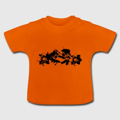 blomster - Baby T-shirt