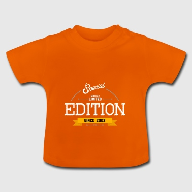 Geburtstag - Special Limited Edition Since 2002 - Baby T-Shirt