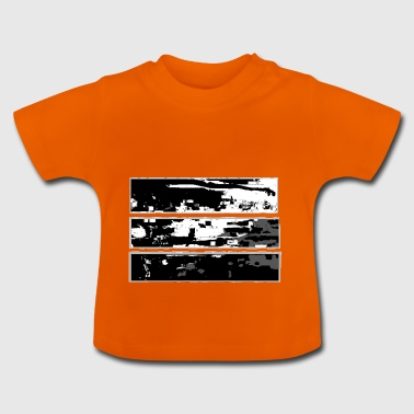 abstract landschap - Baby T-shirt