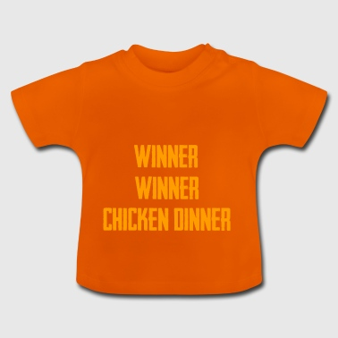Gewinner Gewinner CHIKEN DINNER - ArtWork - Baby T-Shirt