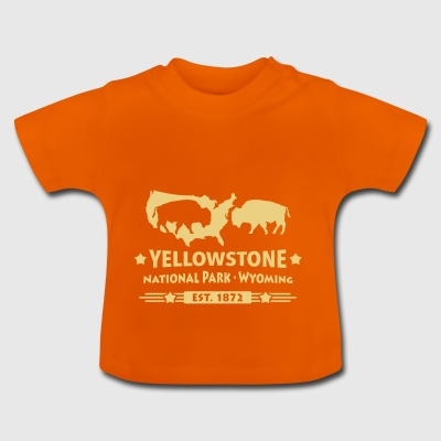 Bison Buffalo Parc national de Yellowstone Wyoming USA - T-shirt Bébé