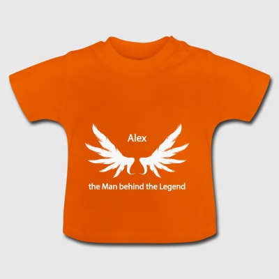 Alex the Man behind the Legend - Baby T-Shirt
