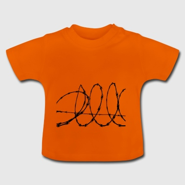 Barbed Wire - Baby T-Shirt