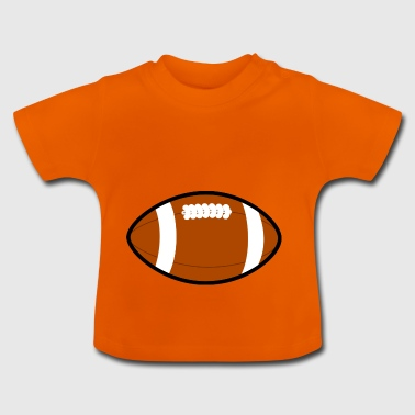 american football soccer fussball ball goalkeeper4 - Baby T-Shirt