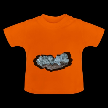 Halite crystal stage - Baby T-Shirt