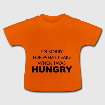 hungrig - Baby-T-shirt