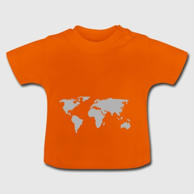 map of the world - Baby T-Shirt