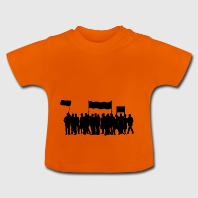 demonstration - Baby-T-shirt