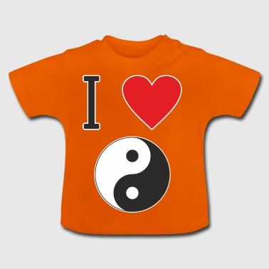 I LOVE YIN YANG is clear that everyone likes that - Baby T-Shirt