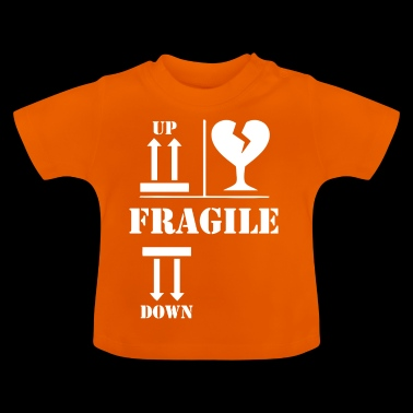 fragile wite - Baby T-Shirt