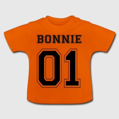 BONNIE 01 - Black Edition - Baby-T-skjorte